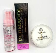 kit dermacol make up cover full coverage foundation concealer makeup dermacol primer satin make