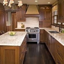 Kitchen Designs With Oak Cabinets Mesmerizing Oak Cabinets Dark Floor Design Ideas Pictures Remodel And Decor