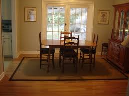new dining room rug