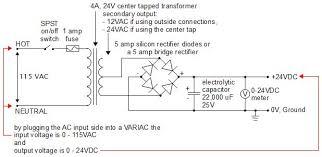 24vdc transformer wiring diagram wiring diagram user 24v dc power supply homemade diy 24vdc transformer wiring diagram