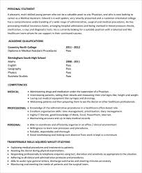 Resume Template Examples 7 Medical Assistant Resume Templates – Samples , Examples & Format ...