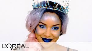 mermaid look halloween makeup tutorials from l oreal