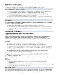 Network Administrator Resume Examples Network Administratorsume Sample Pdf Systems Template Freshers 19