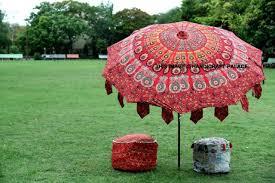 indian women cotton folding parasol