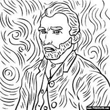 Small Picture 71 coloriages duvres dartistes peintres imprimer Van gogh
