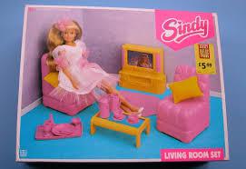 Pink Living Room Set Sindy Living Room Set 1993 Still Boxed Hasbro 30 Pieces Room Set