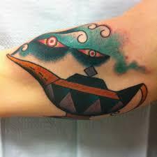 Genie Lamp Tattoo