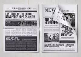 Free Newspaper Template Psd 18 Print Ready Newspaper Templates Docx Psd Ai Xdesigns