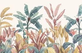 Tropical Minimalist Wallpaper