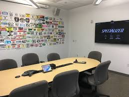 Entire office decked Decoration Our Conference Rooms Are Decked Out To Honor Our Athletes And Favorite Riding Spots Glassdoor Our Conference Rooms Are Deck Specialized Bicycle Components