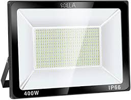 SOLLA 400W LED Flood Light, <b>IP66 Waterproof</b>, 32000lm, 2140W ...