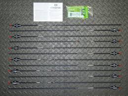 New 12 Easton Fmj 340 Spine 5mm Arrows Full Metal Jacket 11 3 Gpi Cut Insert Av