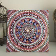 mandala mandala dotsmandala canvasmandala paintingpainting templatescraft