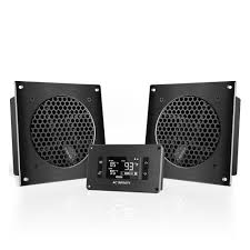 ac infinity airplate. airplate t8, home theater and av quiet cabinet cooling dual-fan system, 6 inch ac infinity airplate
