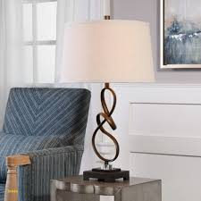 Tafellamp Led Plafondlamp Pikka Met Bruine Kap Lampen24 Nl Vakman