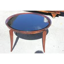 art deco blue glass coffee table coffee table dimensions inches