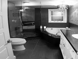 modern white bathroom ideas. Bathroom, Vintage Black And White Bathroom Ideas Glossy Finished Wall Mounted Vanity Elegance Glass Shower Modern X