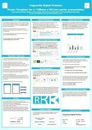 Powerpoint Poster Presentation Poster Presentation Template A0 Ericremboldt Com