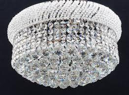 Fantastic Lighting Fantastic Lighting Placido Fl320 50 9 Flush Crystal Ceiling