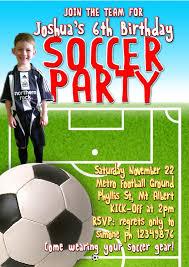 Soccer Party Invitations Soccer Party Invitations Soccer Party Invitations With An Elegant
