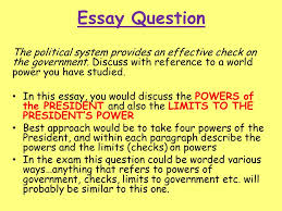 political system and process ppt  72 essay