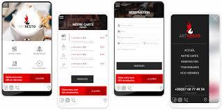 restaurant menu design app restaurant app ui ux design pirabu chandran