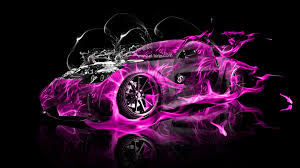 nissan 350z veilside water engine fire abstract car