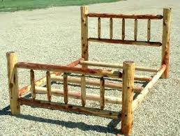 Log Beds Queen Size Log Bed Frame Queen Queen Size Log Bed Frame ...