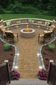 Cheap Seating Ideas Backyard Ideas How To Build A Fire Pit With Bricks Cheap