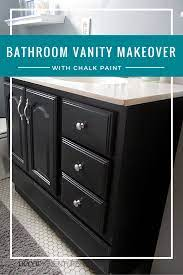 Bathroom Vanity Makeover With Chalk Paint Decor Adventures