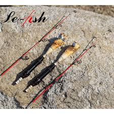 Ultra Light Rock Fishing Best Sale A8b51 Le Fish Ice Rod 2 Sections 75mm Carbon