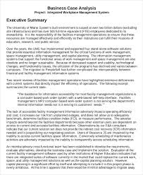 Format For An Executive Summary Business Executive Summary Format Magdalene Project Org