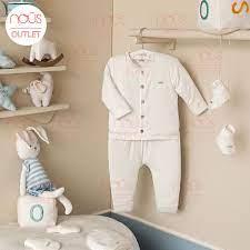 Bộ Quần áo sơ sinh Nous cài thẳng dài newborn trắng trơn Newborn NB Size Sơ  Sinh 2021 giá cạnh tranh