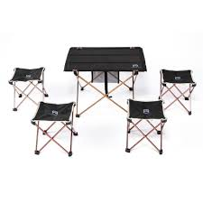 Furniture:Picnic Table We Used Acrylic Paint Design New Aluminium Alloy  Portable Folding Table Foldable