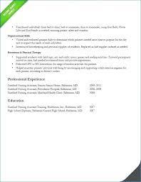 Free Cna Resume Templates Gorgeous Cna Resume Template Free With Resume Templates Free For Create