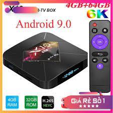 HÀNG CAO CẤP] Android TV BOX RAM 4G, Bộ nhớ 32G 6K