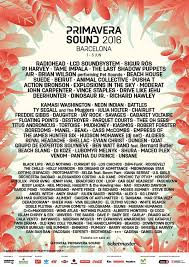 Barcelona's biggest music festival has confirmed that the next edition will be a double festival, taking place over two weekends in june next year, and with over 400 acts performing. Primavera Sound 2016 Lineup Announced Pitchfork