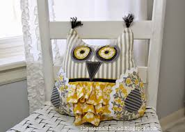Owl Pillow Pattern Quilt Inspiration Free Pattern Day Owls