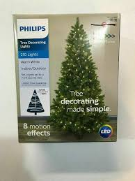 Philips Motion Effects Christmas Lights Philips 210 Led Tree Decorating Lights Indoor Outdoor Warm White New Boxed Xmas
