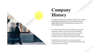 Free Restaurant Company History Powerpoint Slide Templates