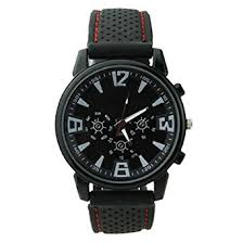 fashion military pilot aviator army style silicone men outdoor fashion military pilot aviator army style silicone men outdoor sport wrist watch black