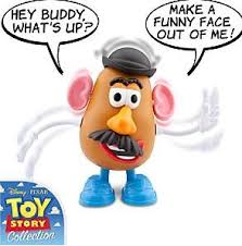 mr potato head toy story collection. Simple Potato He Comes With Moveable And Removable Parts But The Best Part Is That If  Tater Gets Snappy You Can Scream At Him To Watch His Body Parts Fly Off As He  For Mr Potato Head Toy Story Collection D