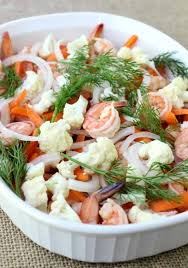 pickled shrimp and vegetables healthy