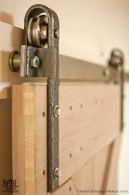 Hammered Barn Door Hardware Kit | Tracking system, Barn door ...
