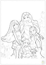 Barbie Coloring Pages Barbie Coloring Pages Fashion Barbie Coloring