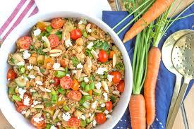 turkish bulgur wheat salad with