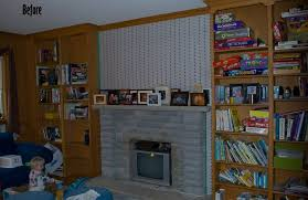 how to do something how to make a faux fireplace screen dress a mantel