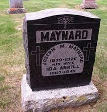 """Adeline """"Ida"""" Ankill Maynard (1867-1949) - Find A Grave Memorial"""