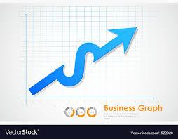 Business Profit Graph Vector Image On Vectorstock