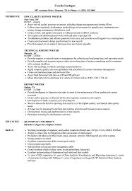Report Writer Resume Samples Velvet Jobs